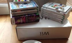 Nintendo Wii Console in original box with cables and