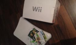 Hi. Wii for sale. Boxed console so perfect if you're