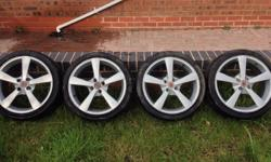 Hi, 4 alloy wheels for sale. They are used and have