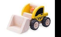 Wonderworld Mini Loader Wooden Vehicle It is the