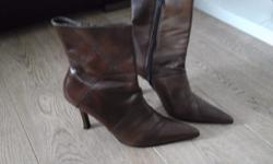 Grab a bargain these sash brown boots are size 5 and as