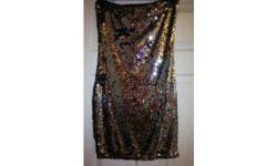 HALF PRICE WAS £10!!Pretty black and silver party dress