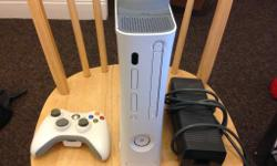 Xbox 360 (HDMI Version) with 60Gb hard drive. This