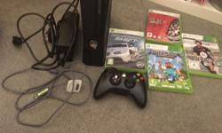 Good condition Xbox 360 with one controller and charger