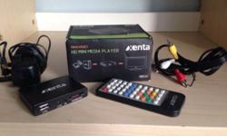 Xenta mini media player, for using USB media on your