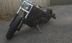 xvs650 dragstar bobber 6 months mot black vance and