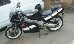 yamaha fzr400rr exup, tax and mot just ran out, lots of