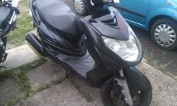 yamaha 125 scooter on 08 plate end years test nice bike