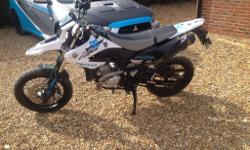 I have for sale Yamaha WR125 X, it has a full service