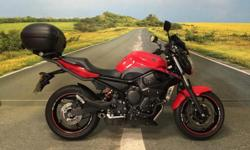 Here we have a immaculate example of a Yamaha XJ6N that