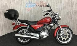 Yamaha YBR125 YBR 125 Custom presented in an excellent