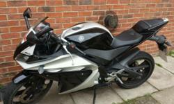I have a yamaha yzf r125 for sale its black and silver