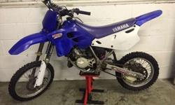 Yz 80 1996 small wheel Good runner Needs new kick start
