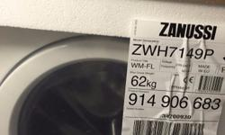 Brand new Zanussi freestanding washing machine with