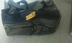 Zebco fishing bag. Ideal for starters. Contact if your